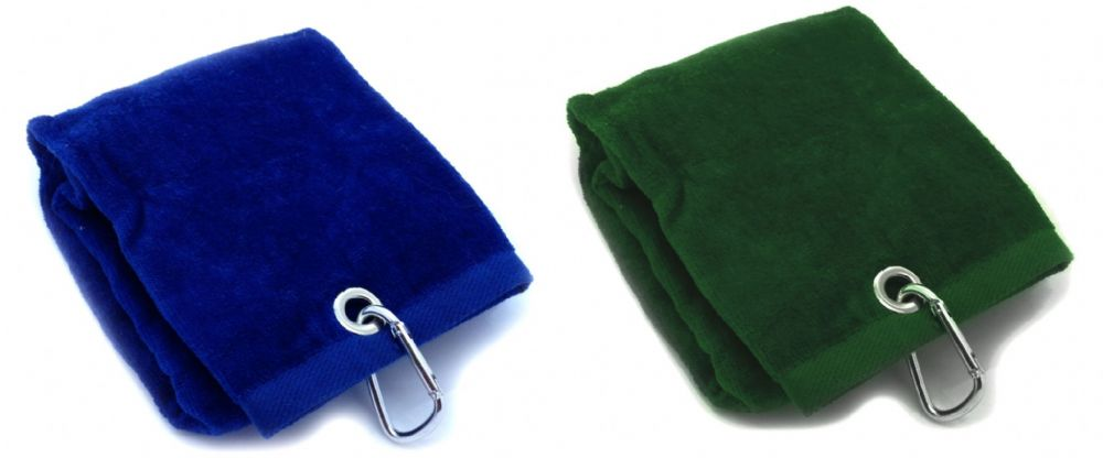 Golf Towel Heavyweight 590gsm trifold velour  Unbeatable Value
